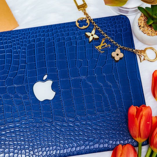 Colorful tech accessories from Chic Geeks make iPhones, MacBooks and more look like part of your décor.
