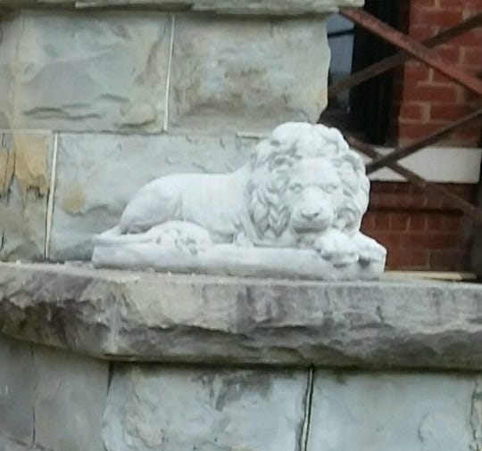 Two lion statues were stolen last week in Elmira and police are seeking the public's help in returning them to their home on West Water Street.