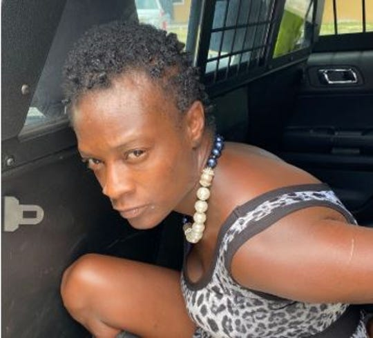Fort Myers Police arrested Crystal Beard, 32, of Fort Myers on Monday, May 18, 2020. She is accused of trespassing and arson.