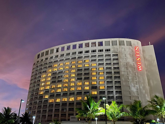 The Westin Resort Guam participated in the Light Up for Hope Campaing on May 15, 2020.
