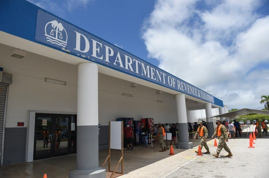 The Department of Revenue and Taxation has processed about 92% of stimulus checks for Guam.