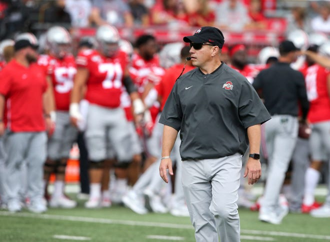 Mickey Marotti is in his ninth year as the head strength and conditioning coach for the Ohio State football program.