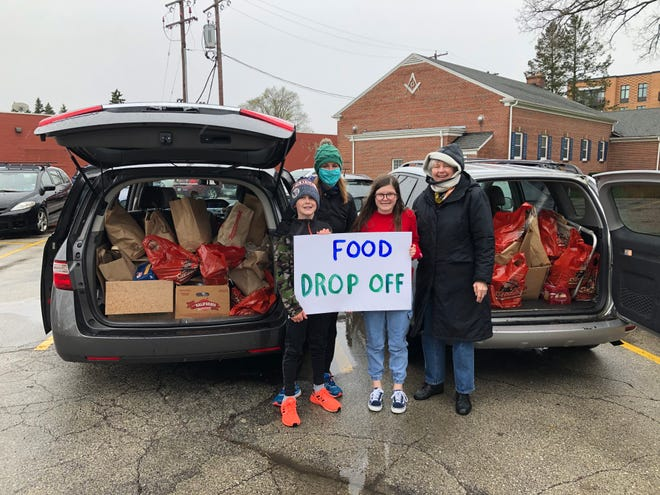 Members of Christ Church Episcopal in Whitefish Bay donated more than 200 pounds of food to the food pantry at All Peoples Church in Milwaukee.