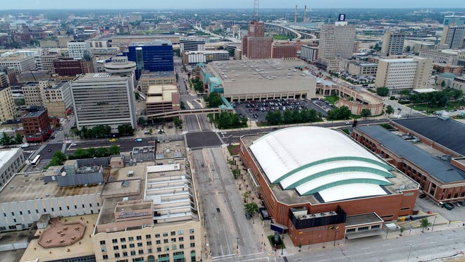 Wisconsin Center District operates the Wisconsin Center, the UW-Milwaukee Panther Arena and the Miller High Life Theatre.