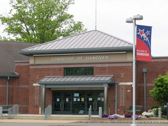 The Hanover Municipal Building complex, May 18, 2020. A new fiber-optic network for emergency and police communications and other planned improvements are part of a $1.1 million upgrade to township communications and technology.