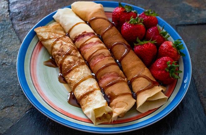 Dutch pancakes.
