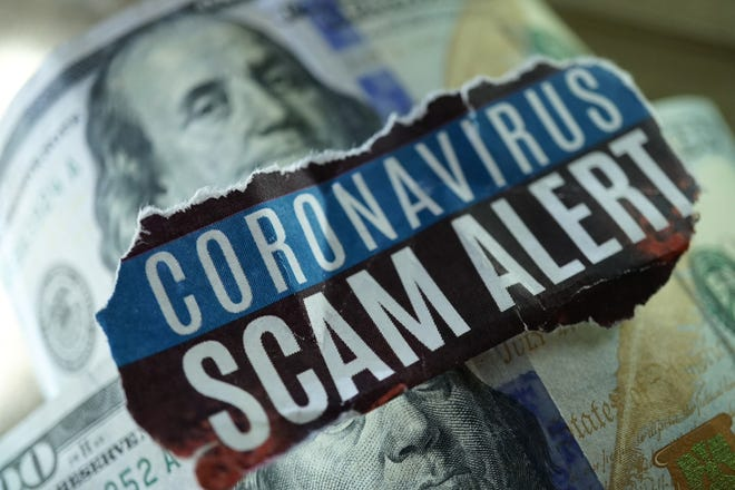 Scammers capitalize on people's hopes and fears to con people out of money during the pandemic.