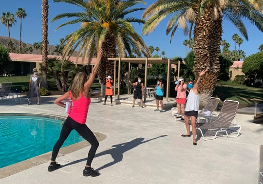 BeMoved Poolside is hosted by Joanie Bayhack on Monday, Wednesday and Friday mornings.