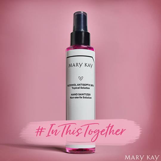 May Kay donates hand sanitizer to FavorHouse of Northwest Florida