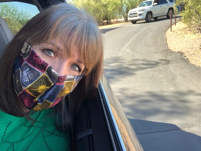 I'm following the CDC's recommendation to wear a mask in public during the pandemic.
