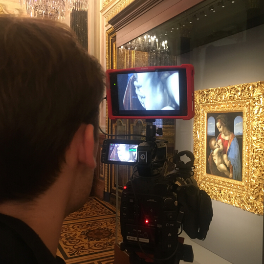"""Special guest director, Phil Grabsky, discusses making the film """"Leonardo: The Works."""""""