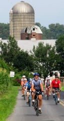Biking is a popular recreational activity in the Lebanon Valley.