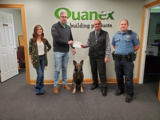 Quanex Homeshield, a part of Quanex Building Products, donated $10,000 to help the Lewisburg (Ohio) Police Department with COVID-19 relief.