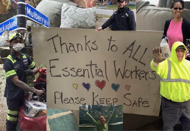 Mulberry Street residents showed their appreciation in a video.