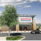 This is rendering of the Costco store that is planned for south Redding.