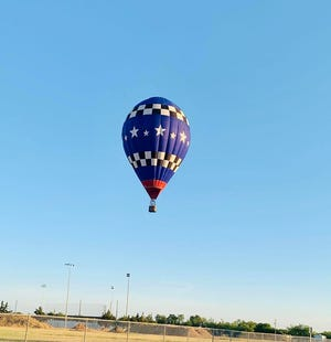San Angelo police responded to north San Angelo for a possible hot air balloon in distress. The balloon successfully landed just north of Lake View High School on Monday, May 18, 2020. The occupants were not in danger.