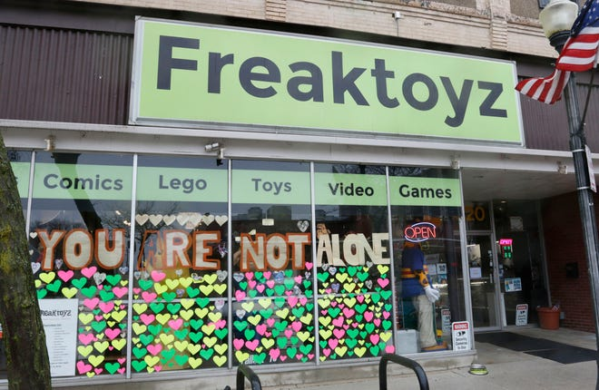 Freaktoyz in downtown Sheboygan reopened on May 12.