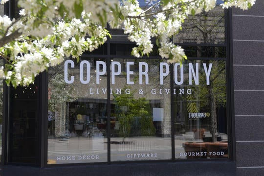 Copper Pony remains closed for in-store shopping on Monday, May 18, 2020. The downtown St. Cloud store will open up its doors to the public on Thursday, May 21, 2020.