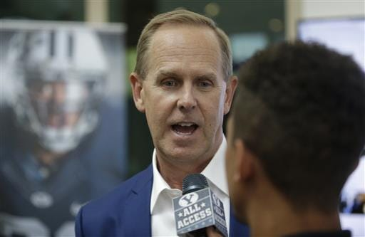 BYU AD Tom Holmoe, here in a 2016 photo, said he anticipates sports being played in the fall, but expressed that he wasn't sure when they would start.