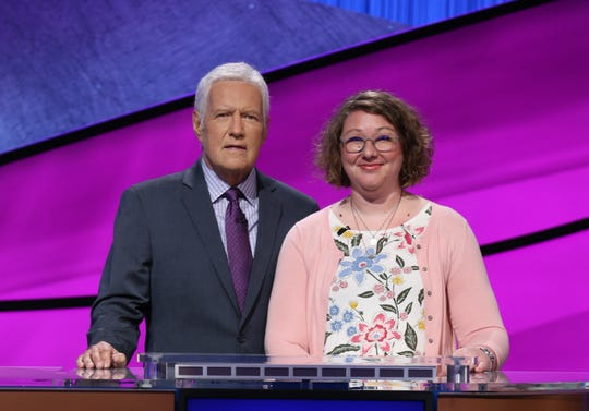 Allison Thomas, a 7th grade civics teacher at Oak Hammock in Port St. Lucie, was one of 15 selected to compete in the 2020 Jeopardy! Teachers Tournament which aired the week of May 25.