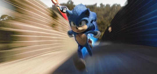 """""""Sonic The Hedgehog"""" will be among the films shown during opening weekend at the Delsea Drive-In in Vineland."""