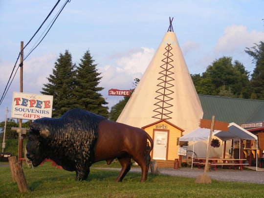 The Tepee in Cherry Valley, New York, has been a stopping off point for drivers on Route 20 for 50 years.