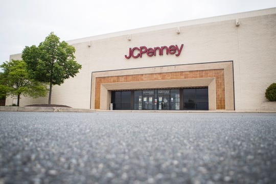 The J.C. Penney at the Christiana Mall Tuesday, May 18, 2020.
