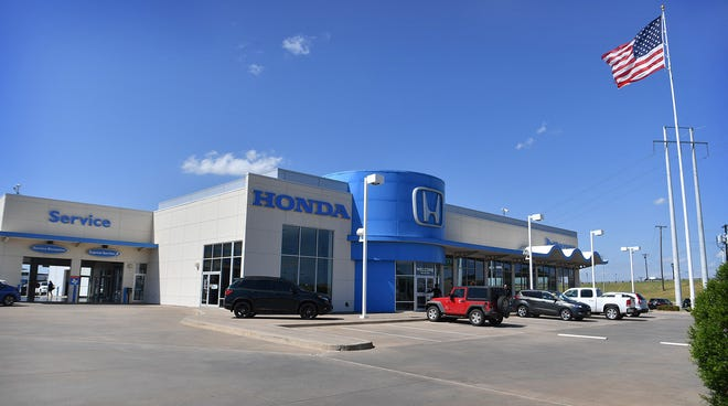 The Patterson Honda dealership opened its new location in 2011.