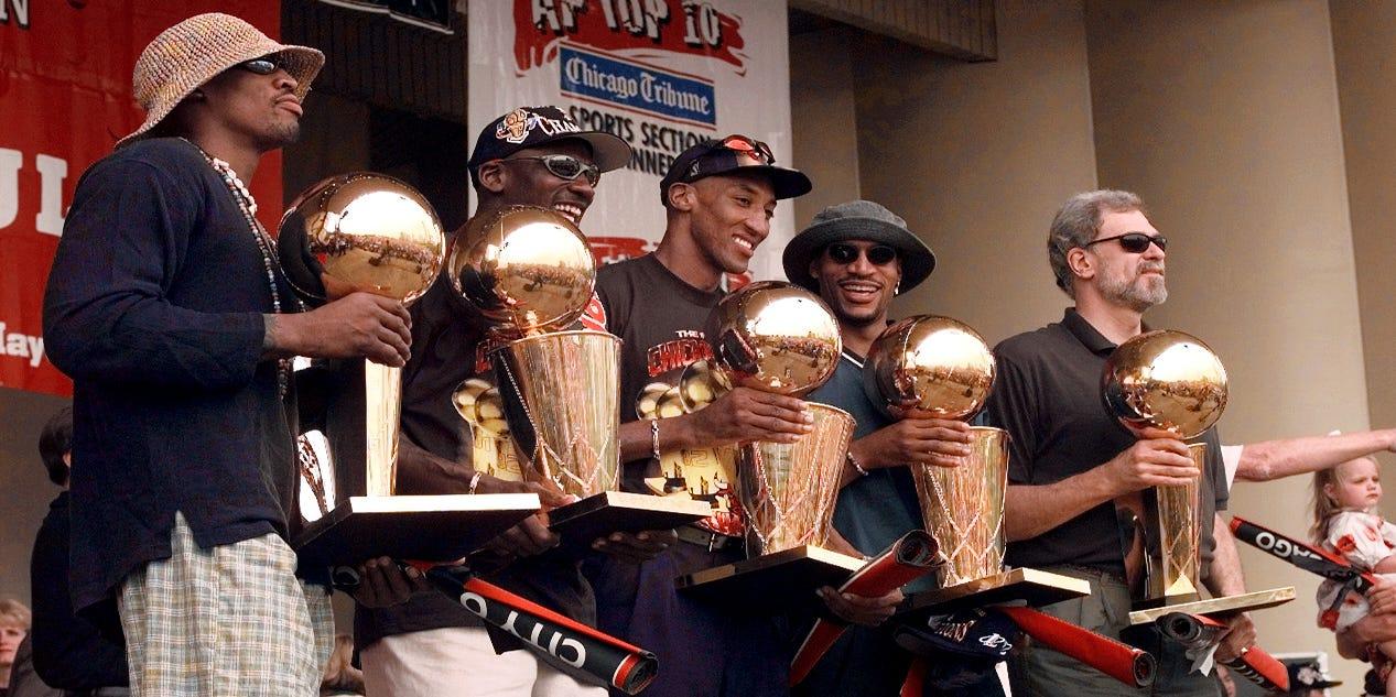 Where Michael Jordan Led Bulls 1997 98 Title Roster Went Post Breakup