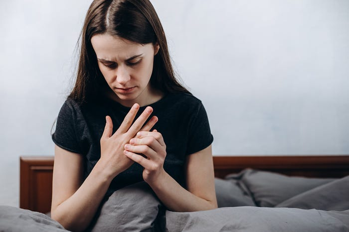 Tingling in the hands or feet can be associated with COVID-19, but not the way you may think