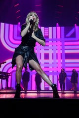 "Taylor Swift showed some footwork during her ""City of Lover Concert"" at L'Olympia in Paris on Sept. 9, 2019."