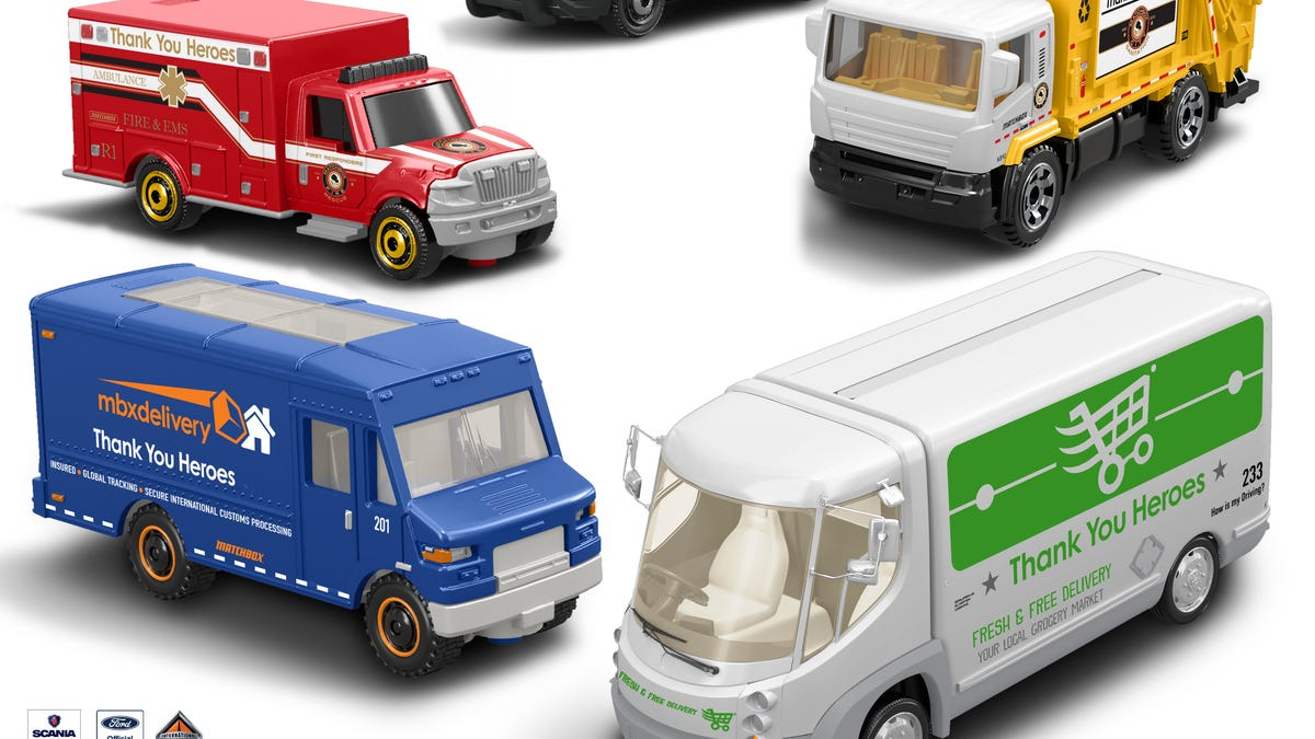 Coronavirus Toys New Additions From Mattel Include Matchbox Vehicles