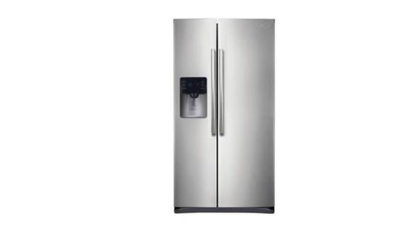 This fridge can store everything you need and has cool features too.