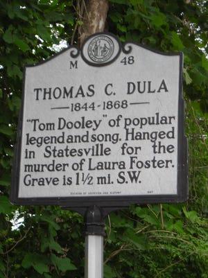 Thomas Dula marker