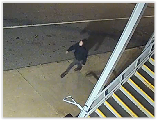 A suspect in a stabbing that occurred near the French Broad Food Co-op on April 29.