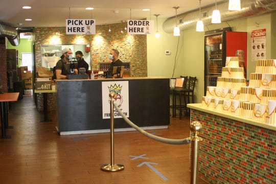 B!+(#!N Fried Chicken in Downtown  Binghamton is now open for take-out orders.