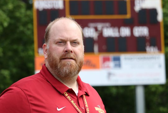 Kingston High School athletic director Richard Henert is stepping down to become the new athletic director at DeForest High School in Wisconsin. Henert graduated from DeForest in 1997.