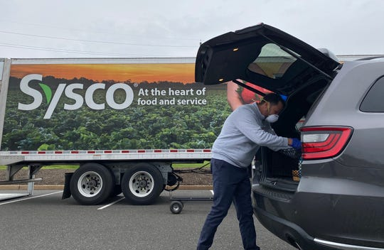 From the 70 online orders placed, the Patriots and Sysco said they raised more than $600 to benefit the RWJBarnabas Health Emergency Response Fund.