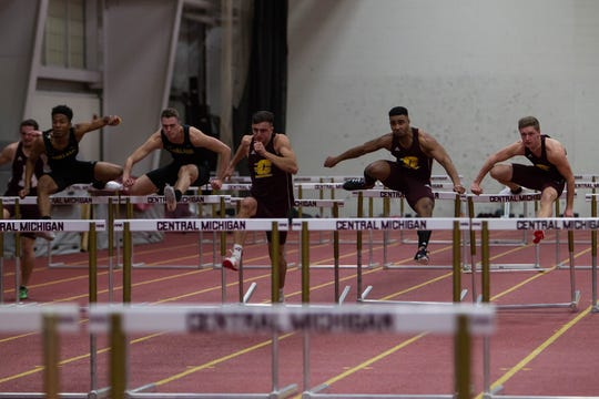 Central Michigan's athletic department discontinued its men's indoor and outdoor track and field due to budget restrictions.
