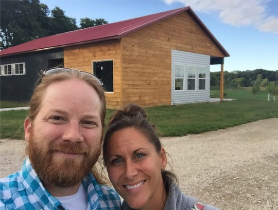 Joe and Erica Krajkiewcz, the owners of Michigan Wine Co. are going forward with a long-planned opening of their tasting room. But instead of physically opening the doors of their 2,332-square-foot winery near Douglas in southwestern Michigan, theyÕre hosting a virtual opening at 6 p.m. Friday.