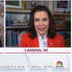"Michigan Gov. Gretchen Whitmer talks with ""Today"" show host Craig Melvin on Tuesday, May 19, 2020."