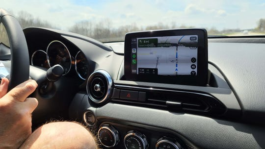The 2020 Mazda Miata offers Apple Car Play and Android auto app compatibility on upper trim models. The feature enables navigation as good as your smartphone.