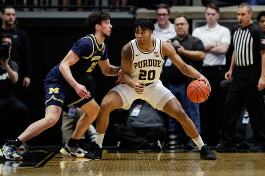 Nojel Eastern (20) averaged 5.1 points and four rebounds in 104 games at Purdue.