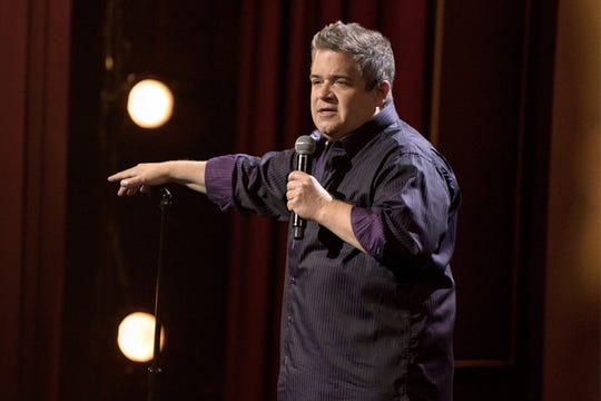 "Patton Oswalt in ""I Love Everything."""