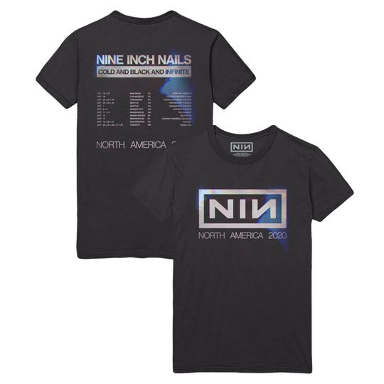 Sales of Nine Inch Nails 2020 tour shirts will benefit food banks in the cities the band was scheduled to play, including Grand Rapids.