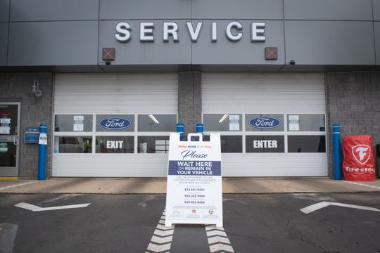 Holiday Automotive in Fond du Lac has implemented several safety measures during the coronavirus pandemic. The dealership will pick up and deliver vehicles for service appointments, and sanitize each after the servicing is complete.