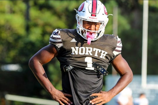Barrett Carter of North Gwinnett High School committed to Clemson on Tuesday.