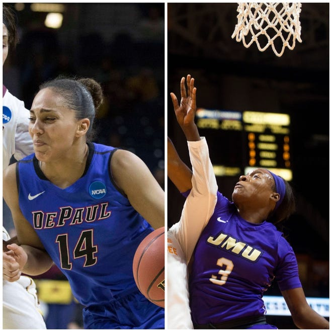 Recent signee Jessica January (left) and third-round pick Kamiah Smalls (right) have been released by the Indiana Fever