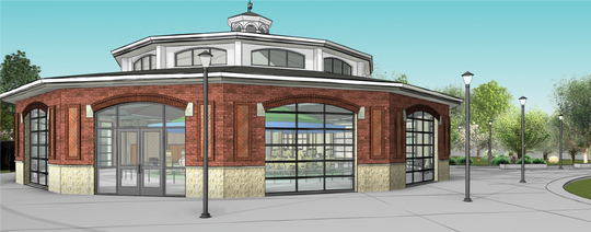 A new carousel is expected to be finished in Lafayette's Columbian Park by October 2020.