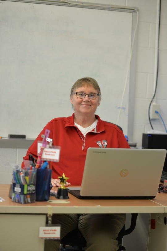 Manitowoc Lutheran High School teacher Karen Willsmann